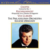 The Van Cliburn Collection: Chopin Concerto No. 1/Rachmaninoff Rhapsody On A Theme Of Paganini — Van Cliburn