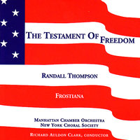 The Testament of Freedom — Randall Thompson