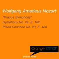Orange Edition - Mozart: Symphony No. 38, K. 504 & Symphony No. 24, K. 182 — Вольфганг Амадей Моцарт, Libor Pesek, Slovak Philharmonic Orchestra