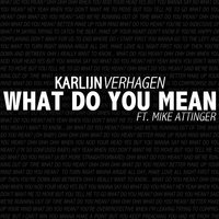 What Do You Mean (feat. Mike Attinger) — Mike Attinger, Karlijn Verhagen