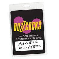 Access All Areas - Buzzcocks Live Town & Country Club 1992 — Buzzcocks