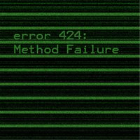 Method Failure — Error 424