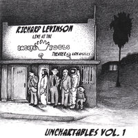 Unchartables Vol. 1 Live at The Sacred Fools Theater, Los Angeles — Richard Levinson