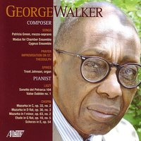 Composer/Pianist — George Walker