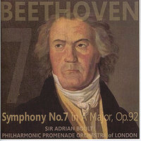 Beethoven: Symphony No. 7 in A Major — Sir Adrian Boult, Philharmonic Promenade Orchestra of London, Людвиг ван Бетховен