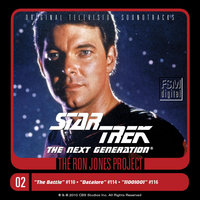 Star Trek: The Next Generation, 2: The Battle/Datalore/11001001 — Ron Jones