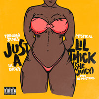 Just A Lil' Thick (She Juicy) — Trinidad Jame$