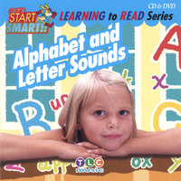 Alphabet and Letter Sounds CD & DVD — Let's Start Smart