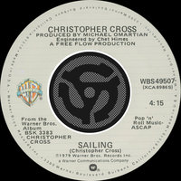 Sailing / Poor Shirley — Christopher Cross