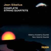 Complete String Quartet — Sibelius Academy Quartet, The and New Helsinki Quartet, The Sibelius Academy Quartet And The New Helsinki Quartet, Ян Сибелиус
