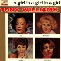 Vintage Vocal Jazz / Swing No. 104 - EP: A Girl Is A Girl — Tony Williams From The Platters