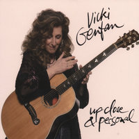 'Up Close & Personal' - DOUBLE CD! — Vicki Genfan