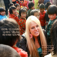 100% to Charity Global Village — Heather Schmid