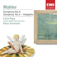 Mahler: Symphony No 4 etc. — London Philharmonic Orchestra, Густав Малер, Klaus Tennstedt/Lucia Popp