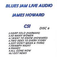 Blues Jam Live Audio: James Howard — James Howard