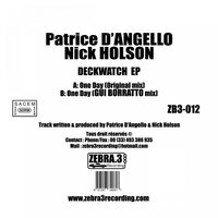 Deckwatch EP — Angelo & Nick Holson, Patrice D&#39, Angelo & Nick Holson, Patrice D&#39