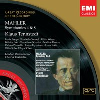 Mahler: Symphonies 4&8 — Густав Малер, Klaus Tennstedt/London Philharmonic Orchestra