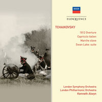Tchaikovsky: 1812 Overture ∙ Capriccio Italien ∙ Marche Slave ∙ Swan Lake — London Philharmonic Orchestra, London Symphony Orchestra (LSO), Kenneth Alwyn