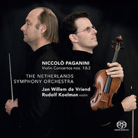Paganini: Violin Concerto's Nos. 1 & 2 — Jan Willem de Vriend, The Netherlands Symphony Orchestra, Rudolf Koelman, Никколо Паганини