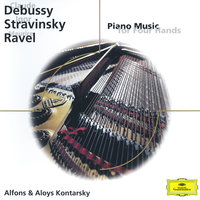 Debussy/Stravinsky/Ravel: Piano Music for Four Hands — Aloys Kontarsky, Alfons Kontarsky