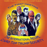 The First Meeting Of The International Recipe Card Top Trump Society — Harry Hill