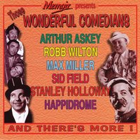 Those Wonderful Comedians — Various Artists - Memoir Records