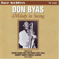 Melody in swing — Don Byas