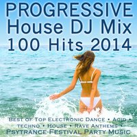 Progressive House DJ Mix 100 Hits 2014 - Best of Top Electronic Dance — сборник