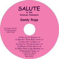 Salute to the Veteran Feminists — Sandy Rapp