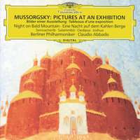 Mussorgsky: Pictures At An Exhibition — Elena Zaremba, Berlin Philharmonic, Claudio Abbado, Prague Philharmonic Chorus, Pavel Kühn