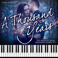 "A Thousand Years (From ""The Twilight Saga: Breaking Dawn, Pt. 1"") — Hollywood Movie Theme Orchestra"