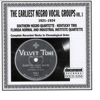 The Earliest Negro Vocal Groups Vol. 3 (1921-1924) — сборник