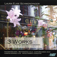 Schwendinger: 3 Works for Solo Instruments and Orchestra — James Smith, Matt Haimovitz, Curtis Macomber, Christina Jennings, Nicole Paiement, University of Wisconsin Chamber Orchestra