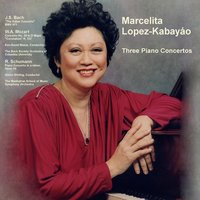 "Marcelita Lopez-Kabayáo: Bach ""Italian Concerto"", BWV 971 / Mozart Concerto No. 26 in D Major ""Coronation"" K. 537 / Schumann Piano Concerto in a Minor, Opus 54 — Marcelita Lopez-Kabayáo, Ken David Masur, The Bach Society Orchestra of Columbia University, Sixten Ehrling & The Manhattan School of Music Symphony Orchestra"