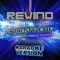 Rewind (In the Style of Paolo Nutini) - Single — Ameritz Audio Karaoke