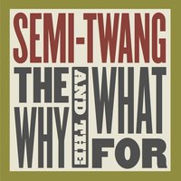 The Why and the What For — Semi-Twang