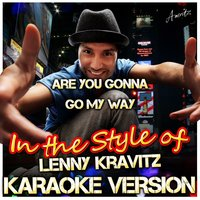 Are You Gonna Go My Way (In the Style of Lenny Kravitz) — Ameritz - Karaoke