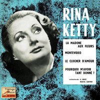 "Vintage French Song Nº 92 - EPs Collectors, ""La Madone Aux Fleurs"" — Rina Ketty"