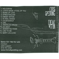 Enemy Within — Chris Spedding