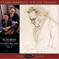 Schubert Four-Hand Piano Works Vol. 1 — Франц Шуберт, Claire Aebersold & Ralph Neiweem