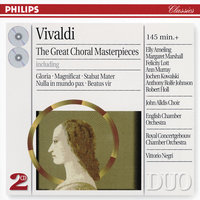 Vivaldi: The Great Choral Masterpieces — сборник