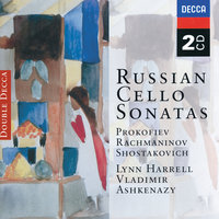 Russian Cello Sonatas — Владимир Ашкенази, Lynn Harrell