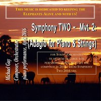 Symphony Two: II. Adagio (For Piano & Strings — Michael Guy