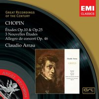 Chopin: Études Op.10 and Op.25 — Фредерик Шопен, Claudio Arrau