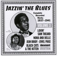 Jazzin' The Blues Vol. 3 (1937-1941) — Various Artists - Document Records
