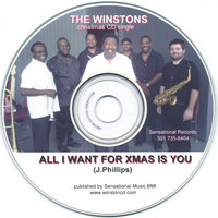 The Winstons Christmas CD Single — The Winstons