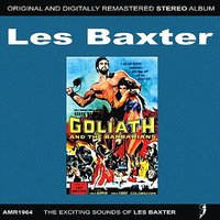 OST Goliath and the Barberians — Les Baxter