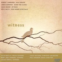 Witness — The Czech National Symphony Orchestra, Paul Freeman, Louise Toppin, Julia Bentley, Mary Jane Johnson