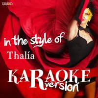 Karaoke (In the Style of Thalia) — Ameritz Spanish Karaoke