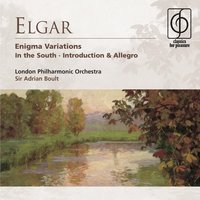 Elgar: Enigma Variations, In the South etc — Sir Adrian Boult, London Philharmonic Orchestra, Эдуард Элгар